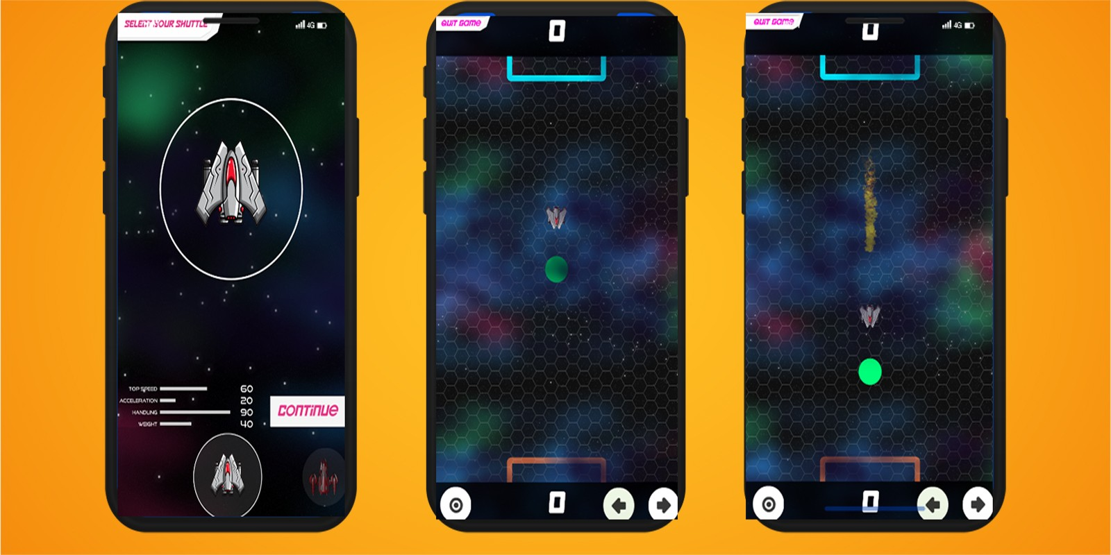 Multiplayer Space Game Unity