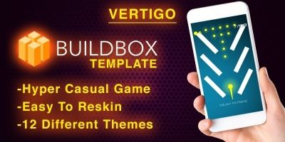 Vertigo - Buildbox Hyper Casual Game Template
