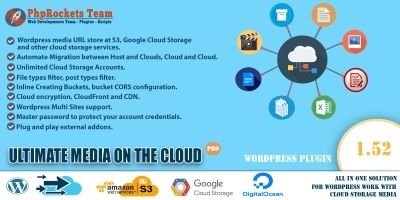 Ultimate Media On The Cloud WordPress Plugin