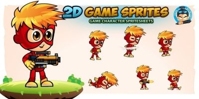 Alex Game Character Sprites