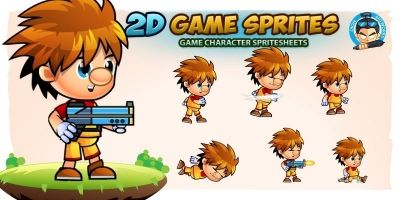 Daniel Game Character Sprites