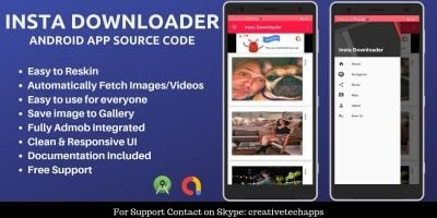 Insta Downloader - Android App Source Code