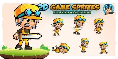 Mason Game Character Sprites