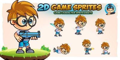Gimy 2D Game Sprites