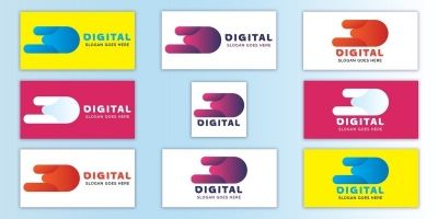 Digital Business Logo design