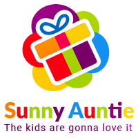 Colorful Logo Template For Gift Box And Toys