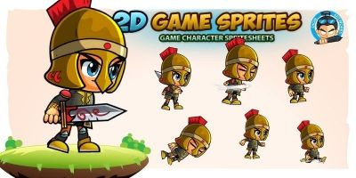 Vornek Game Character Sprites