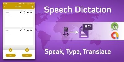 Voice Typing Dictation And Translation  Android