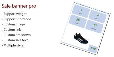 Sale Banner Pro WordPress Plugin