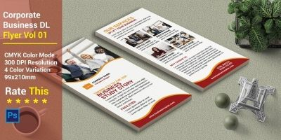Corporate Business DL Flyer Vol 01
