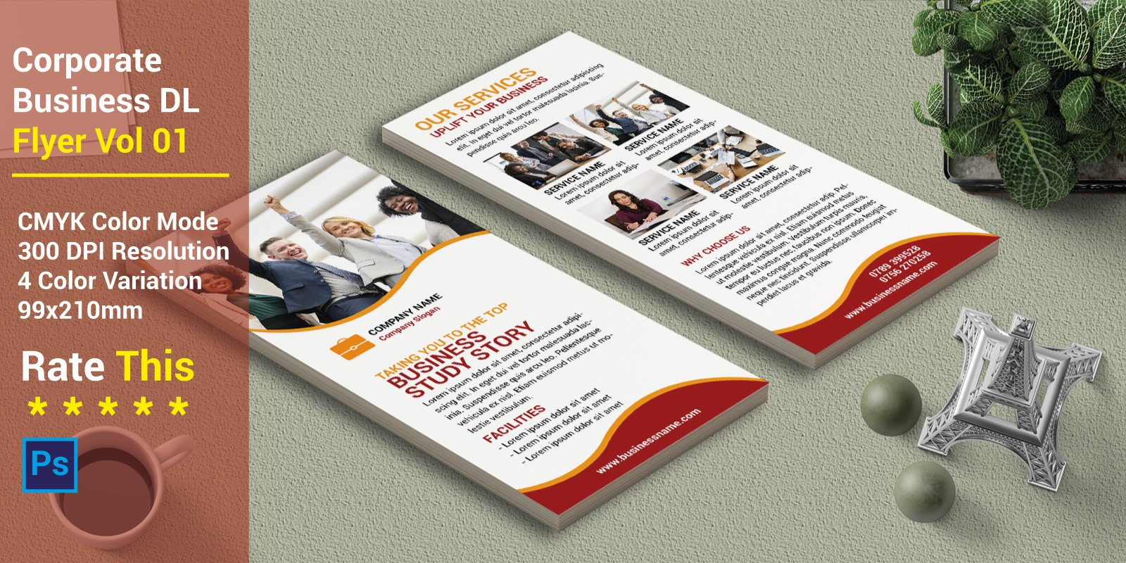 Corporate Business DL Flyer Vol 01