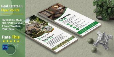 Real Estate DL Flyer Vol 02