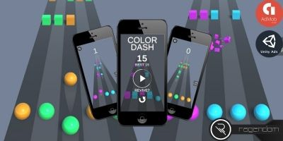 Color Dash - Complete Unity Game