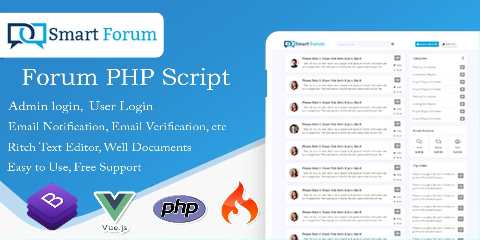 Smart Forum - Forum PHP Script