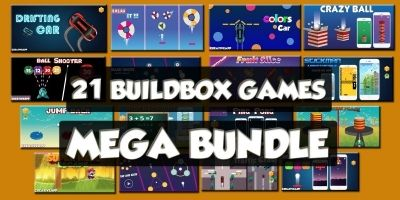21 Premium Buildbox Games