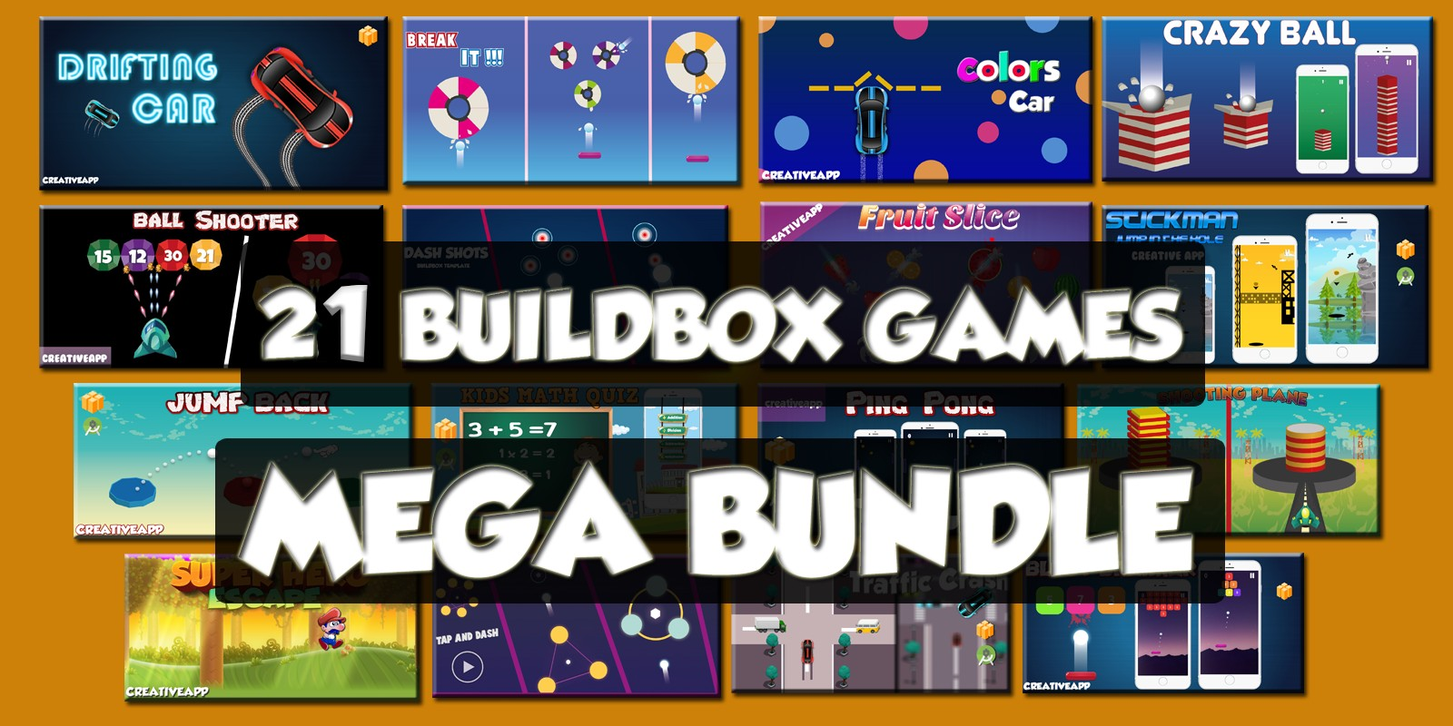 21 Premium Buildbox Games