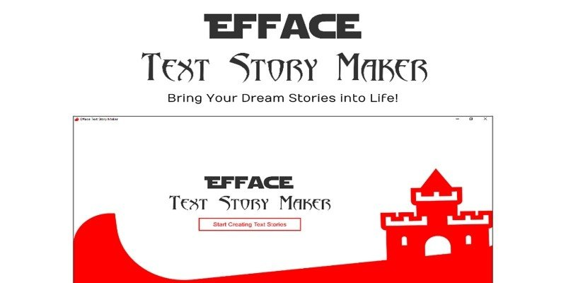 Efface Text Story Maker .NET