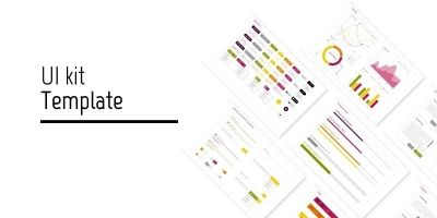 Web and Mobile aplications UI kit template
