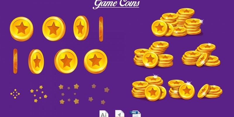 Game Coins Kit