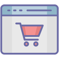150 Online Shopping Vector Icons Pack