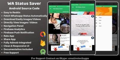 WA Status Saver - Android Source Code