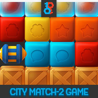 City Match 2 Unity Game Template
