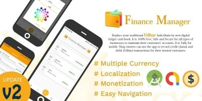 Finance Manager - Android Source Code