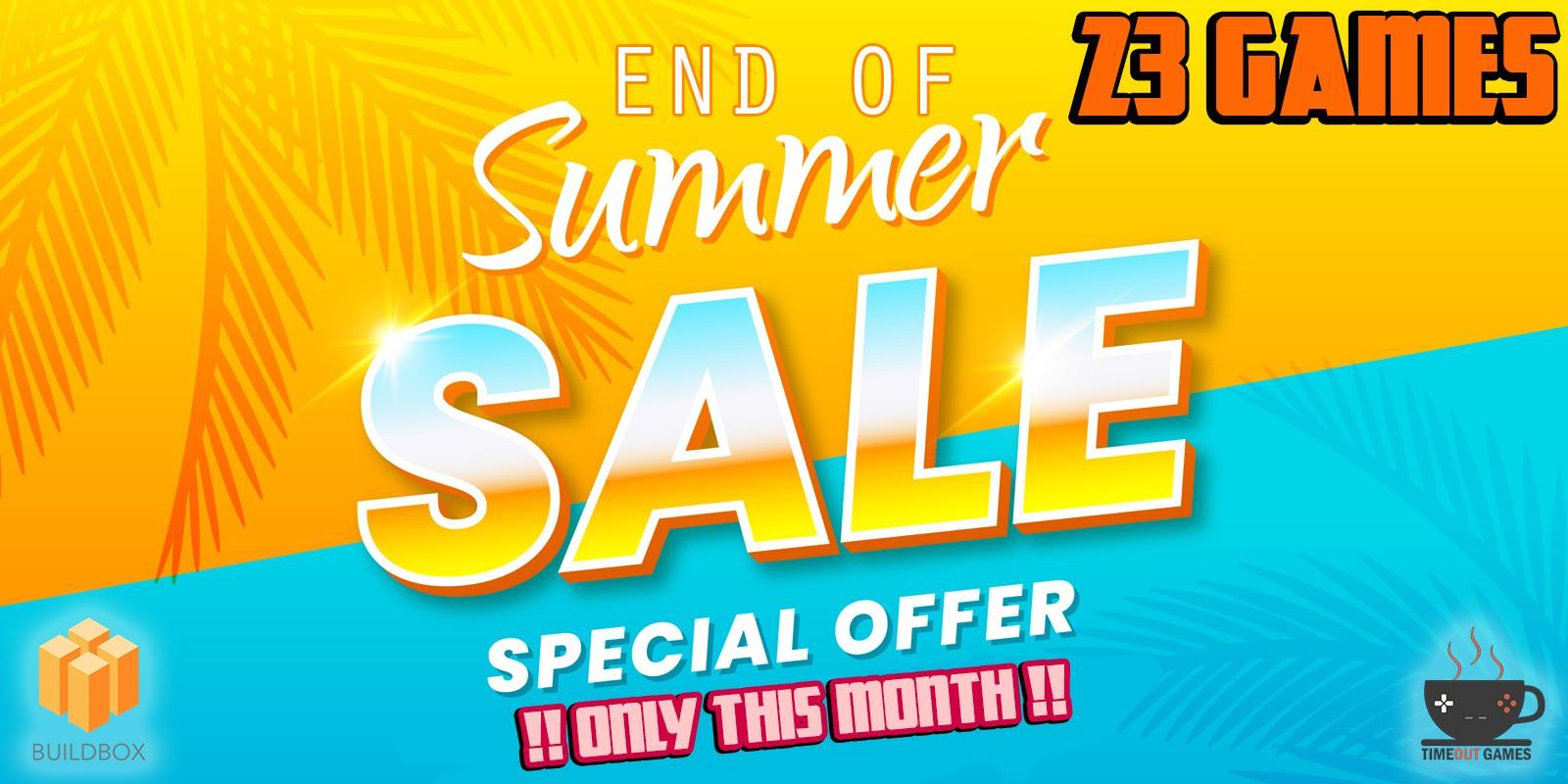 End of Summer Buildbox Sale - 23 Games