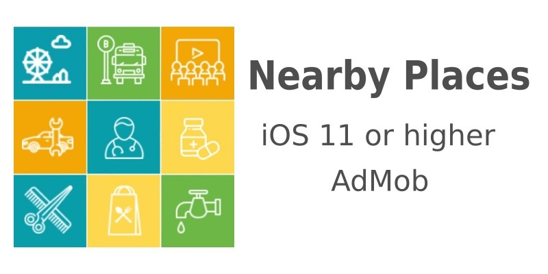 Nearby Places - iOS Source Code