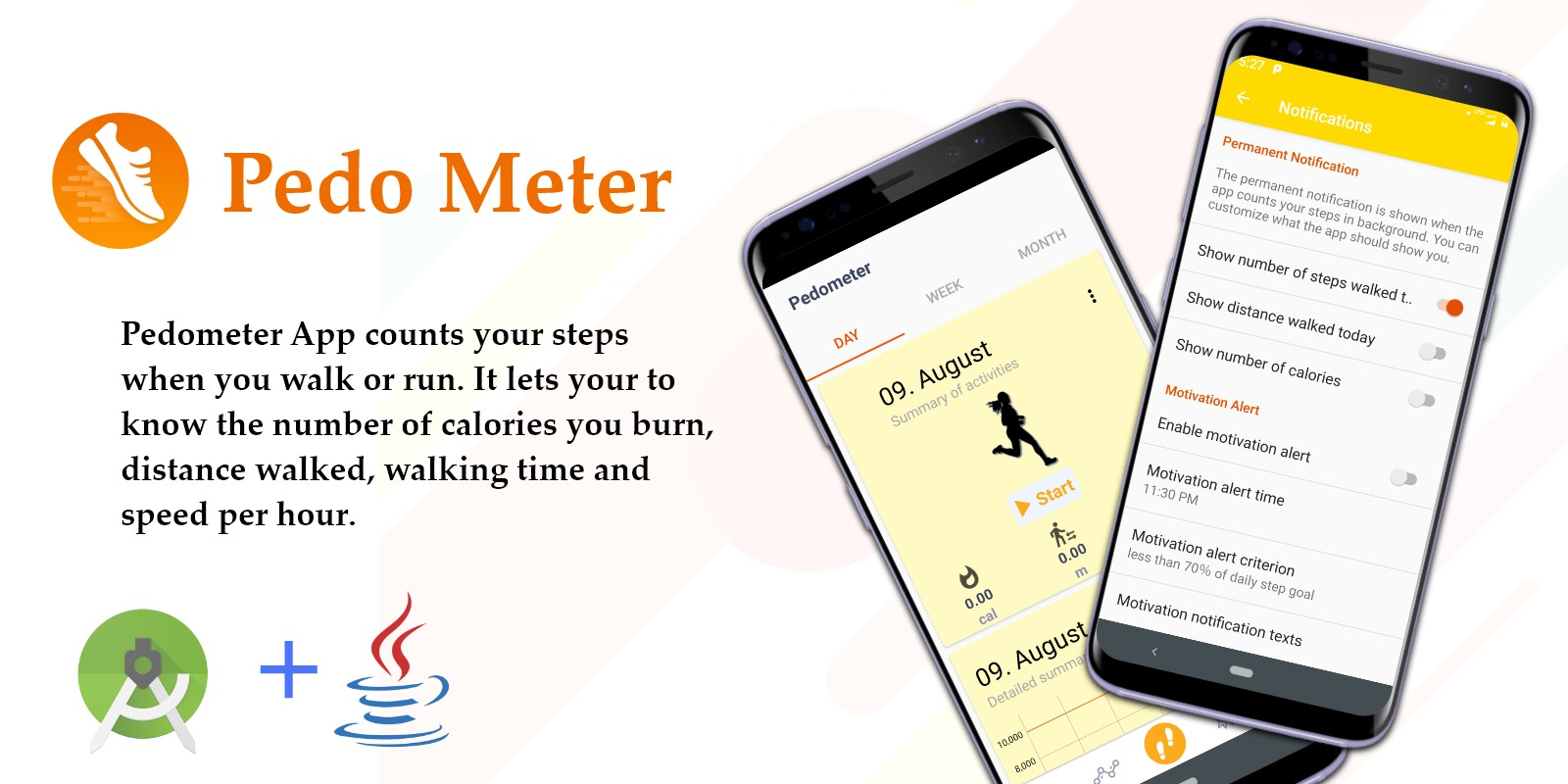 PedoMeter - Android Source Code