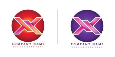 X company Logo Sesign Inspiration Vector