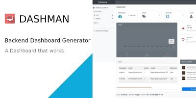 Dashman - Functional Dashboard Generator Script