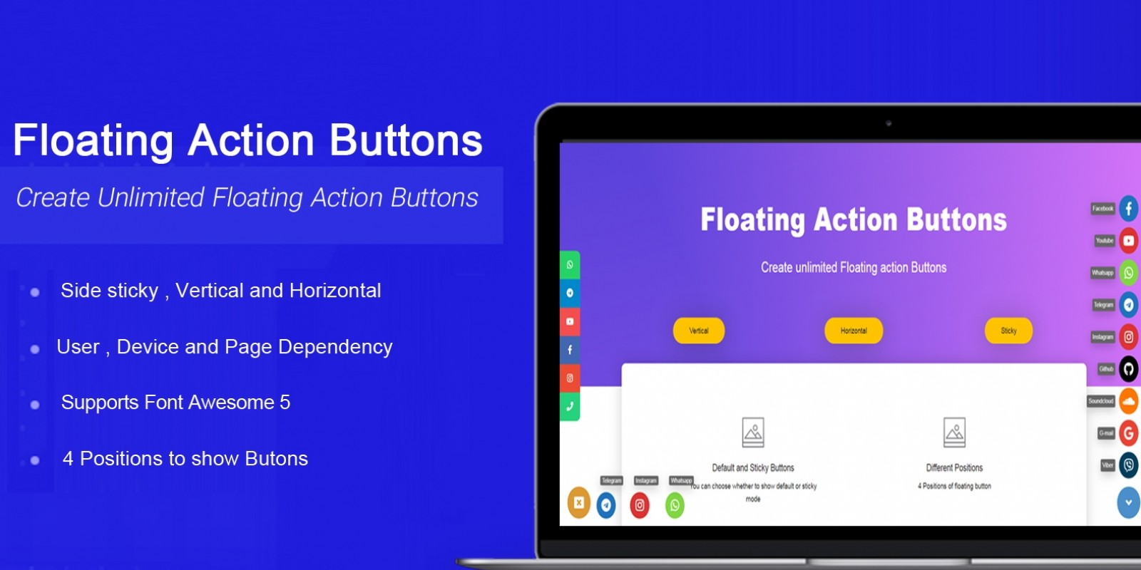 WP Floating Action Button Plugin