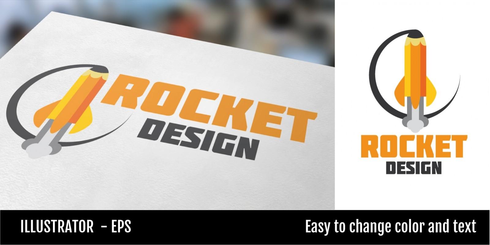 Rocket Design Logo