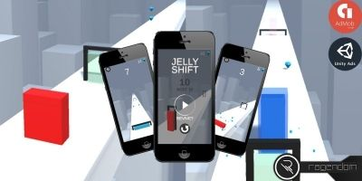 Jelly Shift - Complete Unity Game