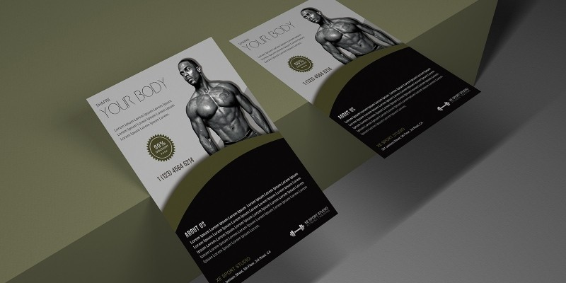 Fitness Promotion Flyer