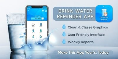 Drink Water Reminder - Android Source Code