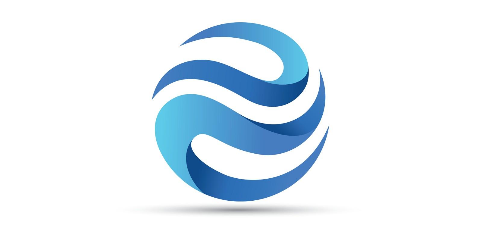 Modern Circle Design Logo Vector