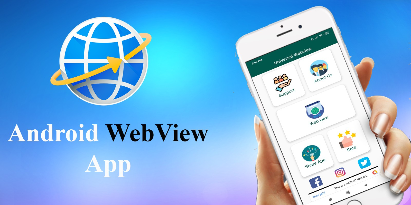 Android WebView App Source Code