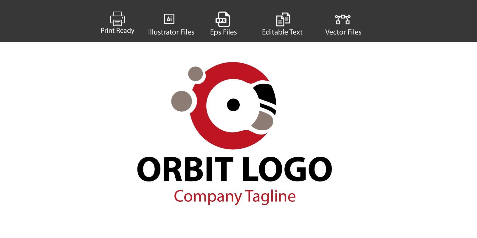 Orbit Company Logo - Letter O