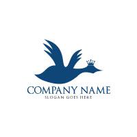 Elegant Dove Logo Design