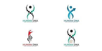 DNA Tree Logo Design