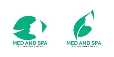Med And Spa Logo Design