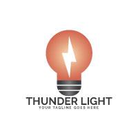 Thunder Light Logo Design