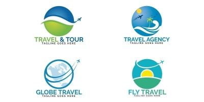 Travel Logos Set Design