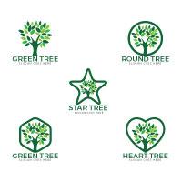 Tree Logos Set Design