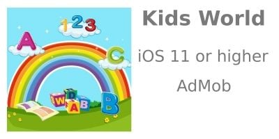 Kids World - iOS Source Code