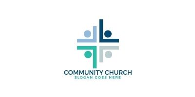 Community Church Logo Design