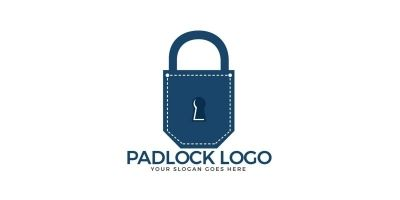 Pocket Padlock Logo Design