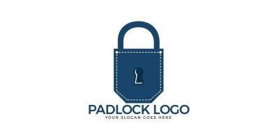 Pocket Padlock Logo Design